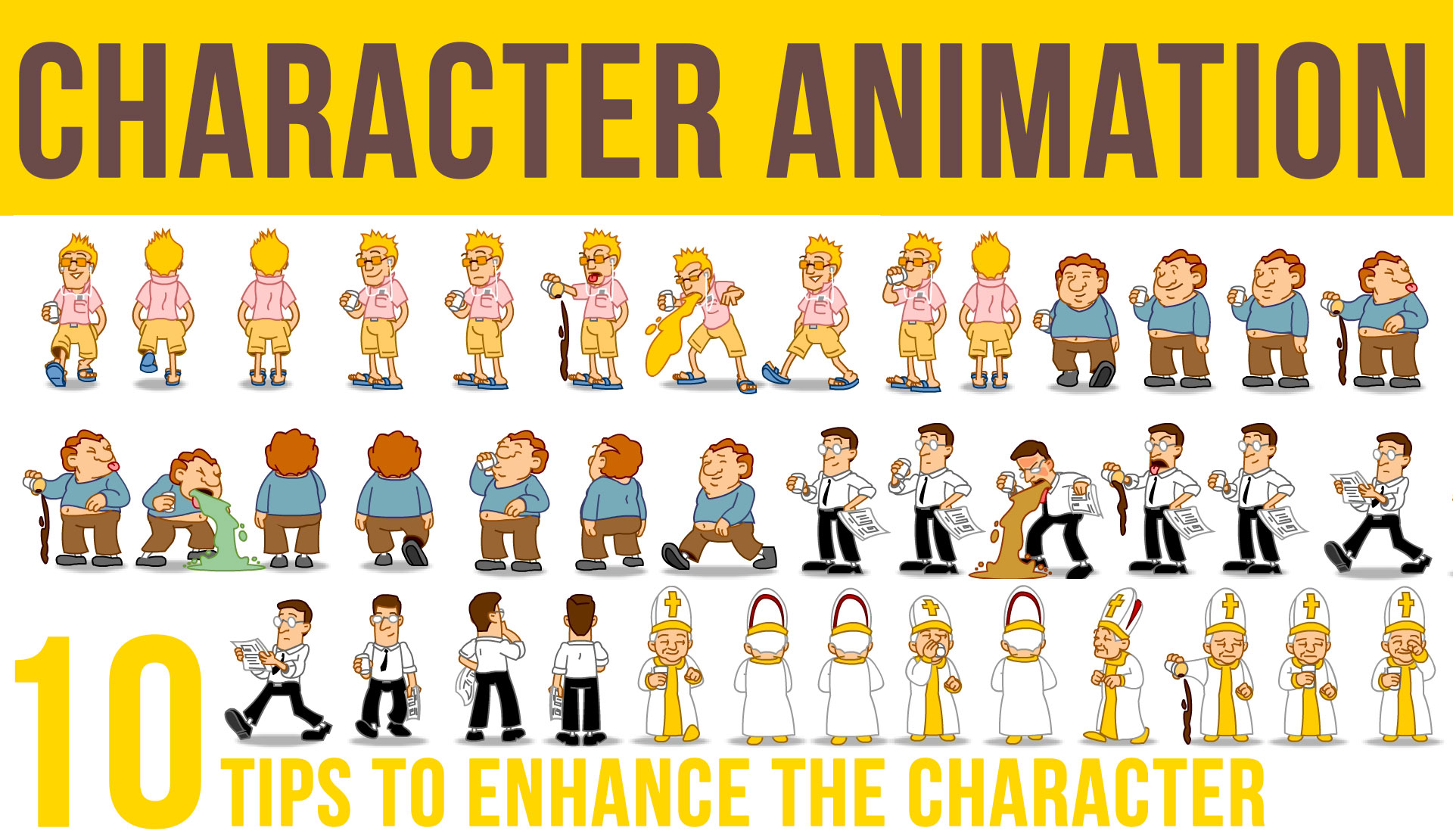 Character Animation: 10 tips to enhance the Character